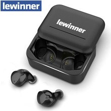 Lewinner V10 Wireless TWS Bluetooth 5.0 Earphone 3D Stereo HiFi Sport Earbuds music headset with Charging Box