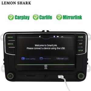 Image 3 - RCD330 בתוספת RCD330G Carplay MIB רכב רדיו Noname ירוק כפתור אור RCD 330G 6RD 035 187B 187 b עבור סקודה מעולה אוקטביה פאביה