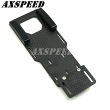 Carbon Fiber Battery Mounting Plate For 1/10 RC Crawler Axial SCX10 II AX90046 gpm racing axial scx10 ii ax90046 aluminium chassis lift up combo