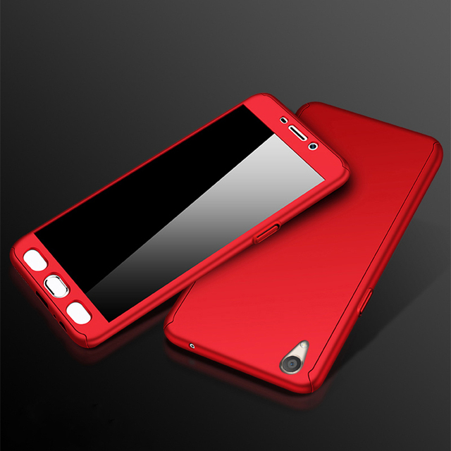innovative design 1755a d0381 GXE 360 Degree Protection Shockproof Back Cover For VIVO Y53
