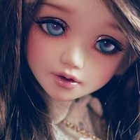Unoa lusis bjd bonecas 1/4 modelo de corpo do bebê meninas meninos bonecas olhos luts dollmore brinquedos loja resina anime acessório luodoll