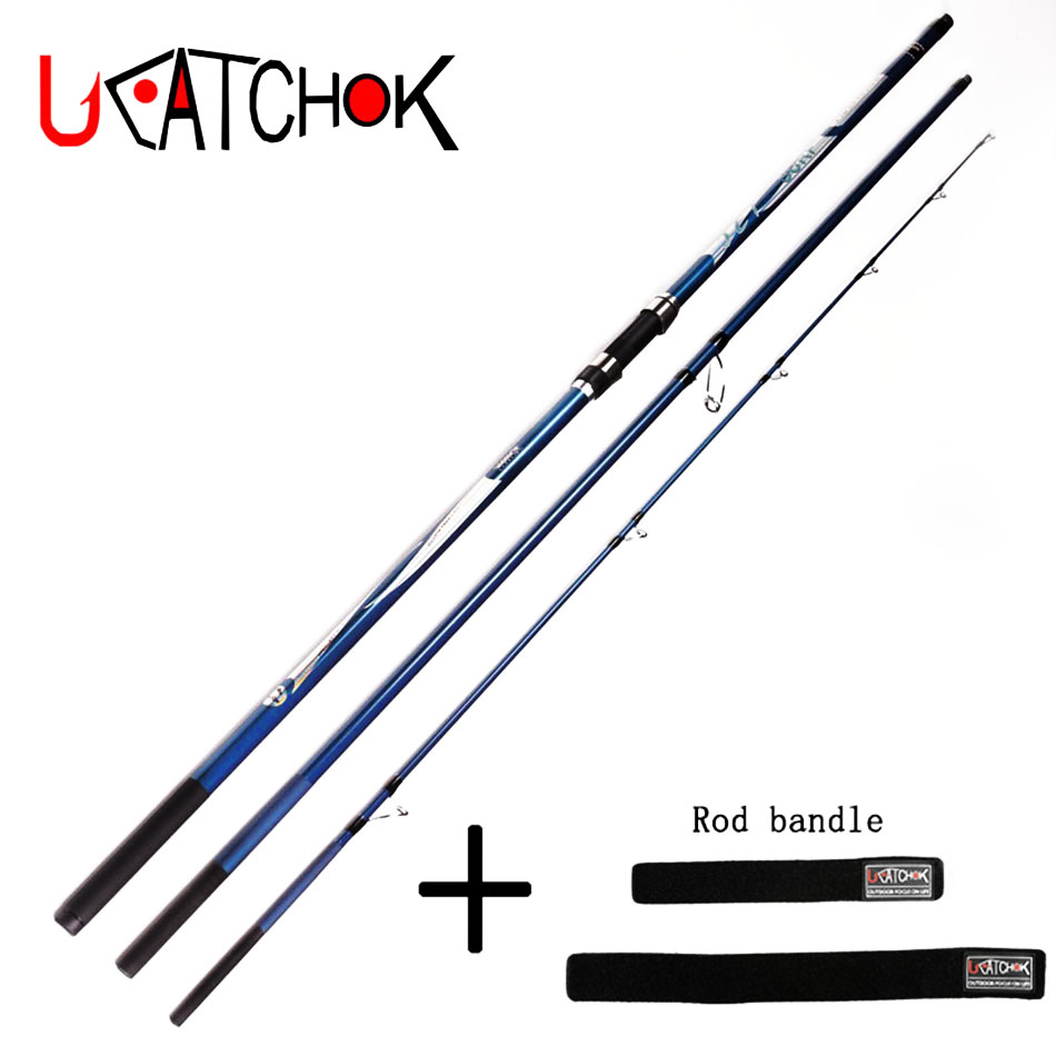 4.2M 200g LW 3section surf rod long Casting high Carbon fiber far shot rod SURF rod beach rock far distance throwing fishing rod цена 2017