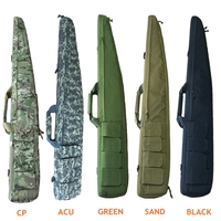 Outdoor Hunting Rifle Gun Bag 120cm Tactical Hand Gun Bag Outdoor Gun Carring Bag Military Rifle Case Shoulder Pouch Black Green