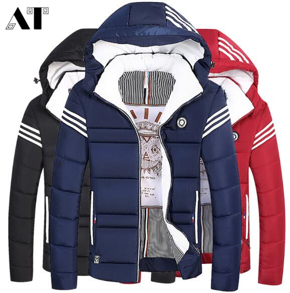 Parkas Men  Clothing Fashion Winter Jacket Men Coat Casual Men
