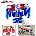 2 Colours Free shipping Motorcycle Complete Graphic Kit Dirt Bike Sticker Fuel Tank Decal Gas Tank Decals For CRM250 CRM 250
