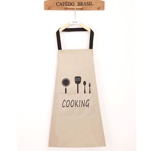 Image 3 - Lady Water Oil Proof Apron Home Kitchen Chef Aprons Restaurant Cooking Baking Dress Fashion Apron With Pockets