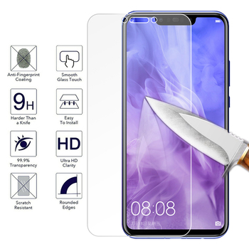 Protective Tempered Glass For Huawei P20 P30 Mate 20 Lite Honor 8X 9 Lite Nova 3i Mate 10 Pro P10 Plus Y9 2018 Screen Protector image