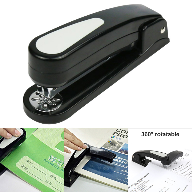 Rotary Stapler 20 Pages 360 Degree Rotation Durable Easy Operation For 24/6 26/6mm DJA99