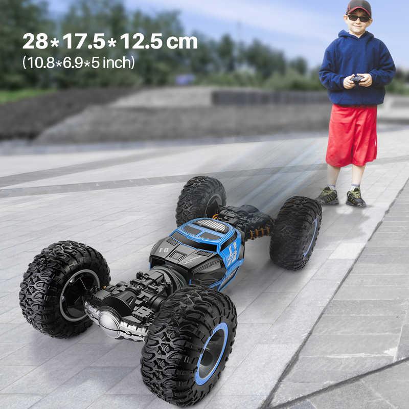 1/16 4WD Listrik RC Drift Mobil Rock Crawler Remote Control Mainan 2.4G Radio Controlled 4X4 Berkendara Off -Peta Mobil Mainan untuk Anak Laki-laki Hadiah
