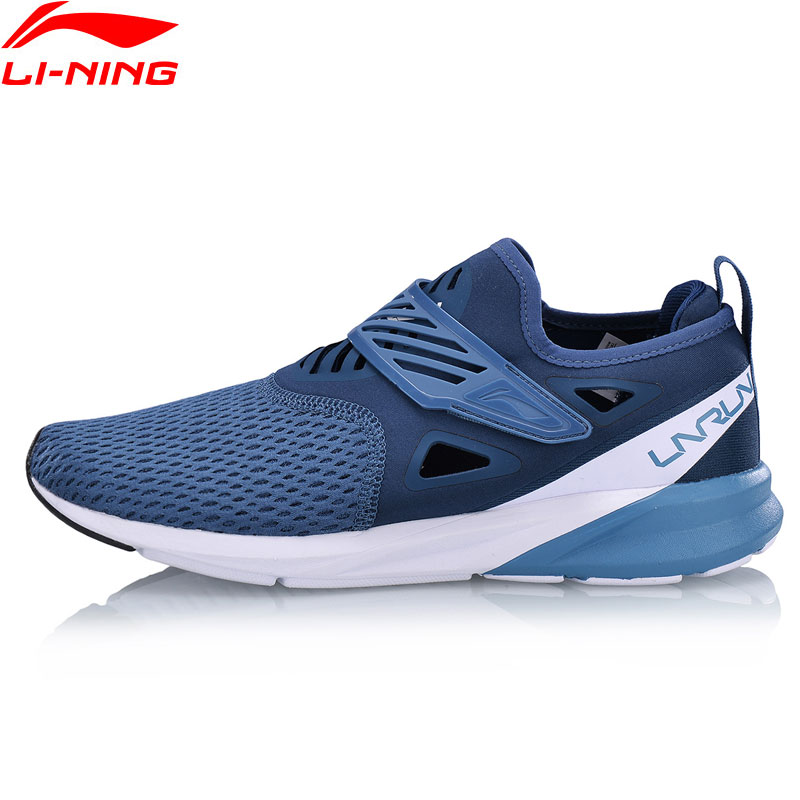 Li Ning Men COLOR ZONE Cushion Running Shoes Light Breathable Sneakers Comfort Fitness LiNing Sport Shoes