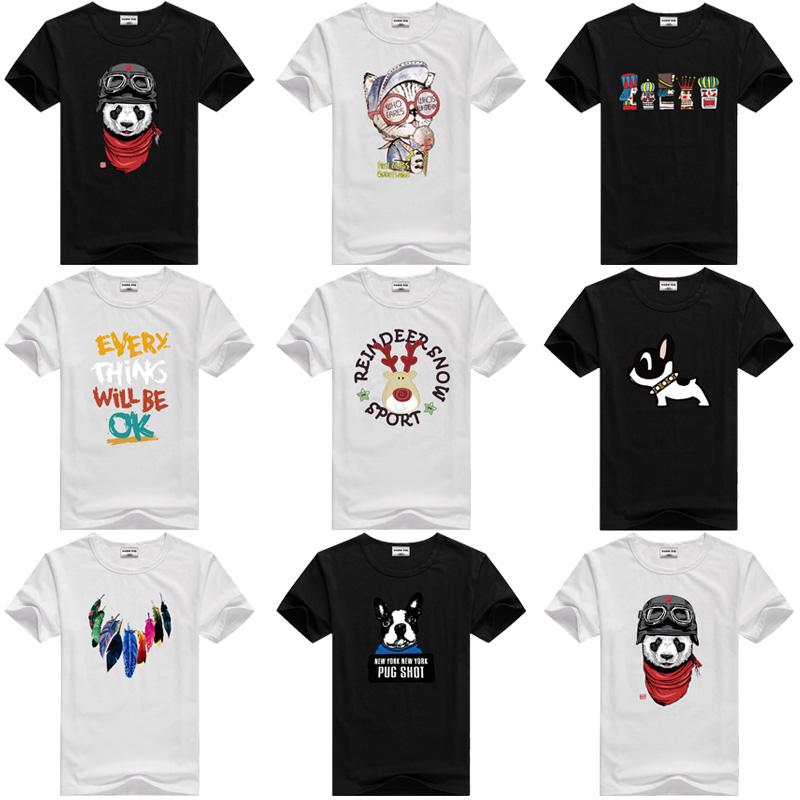 Childrens Powered by Bacon Funny Pig Soft Short Sleeve Tee Shirt Size 2-6
