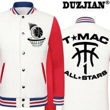 2016 Spring new Rocket Tracy McGrady casual jacket T Mac cheap men winter jackets male coat
