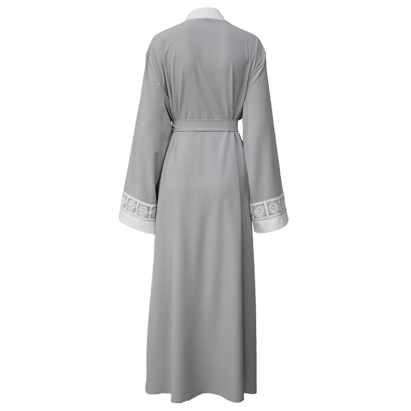 Cardigan Lace 2019 Dubai Long African Summer Patchwork Muslim Women Size Blouse Abaya Roupa Maxi Feminina Spring Boho Plus f5wOBPxqUn