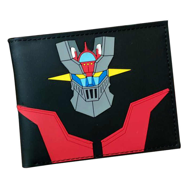 new anime MAZINGER Z wallet Card holder Cartoon Silica Gel  Purse