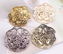 2017 Game of Thrones Brooch Song of Ice and Fire Vintage Targaryen Dragon Badge Pin for Men and Women Wholesale cool movies game of thrones wallets targaryen blood and fire dragon wallets for women men mini wallet and purse billeteras wolf