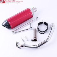 KYMCO SYM 125 150 chinese Scooter GY6 motorcycle racing exhaust GY6 125CC 150CC 152qmi 157qmj engine|exhaust gy6|motorcycle racing exhaust|gy6 125cc 150cc -