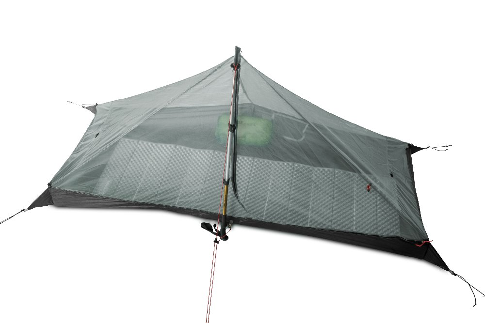 Image 3 - 3F UL GEAR LanShan 1 Outdoor Ultralight Camping Tent 1 Person 3  Season Professional 15D Silnylon LanShan1 Rodless TentTents   -
