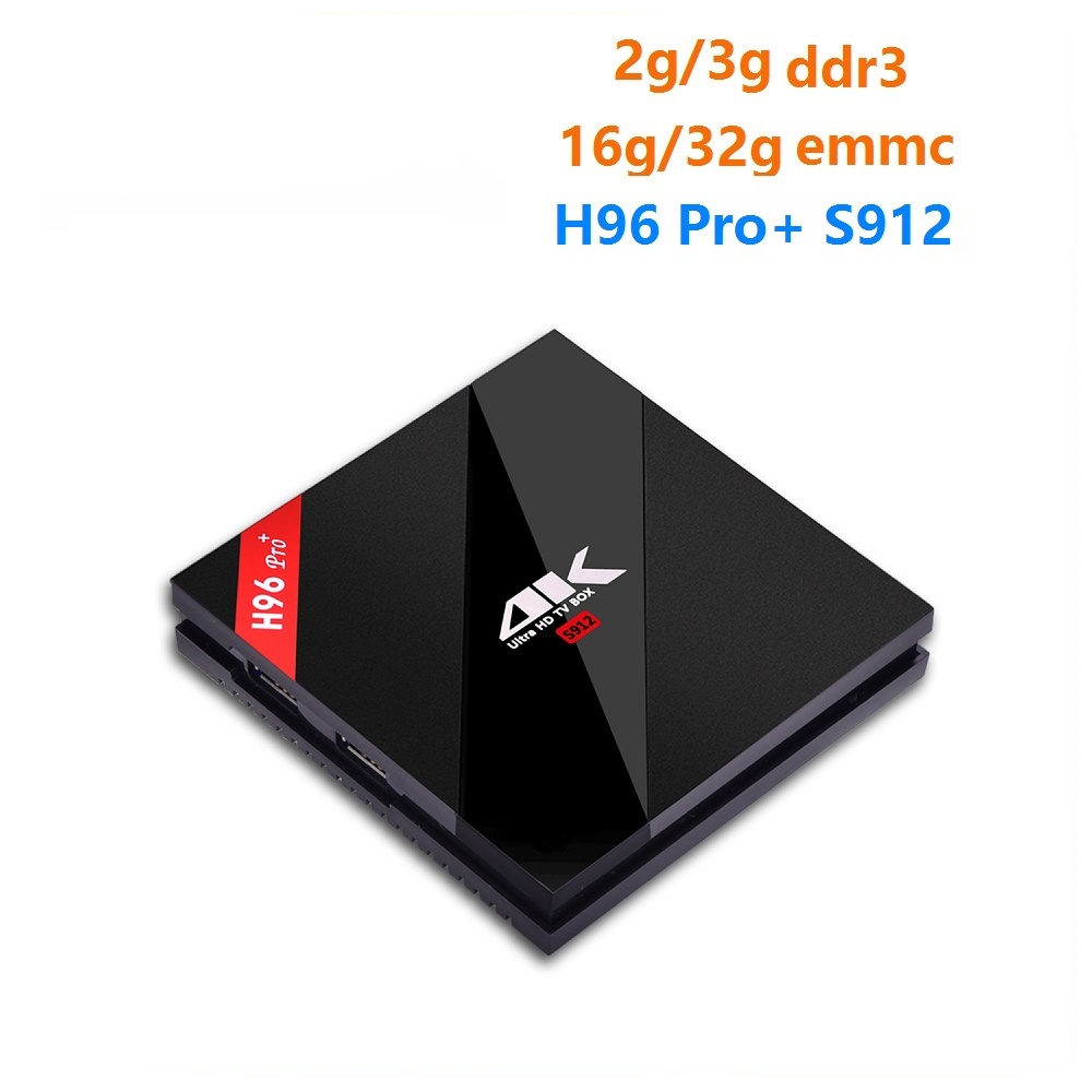 WeChip H96 Pro Plus android tv box 7 1 OS Octa Core S912 3G 32G
