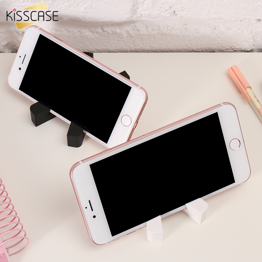 KISSCASE Universal Phone Tablet Holder For Samsung S9 S8 Plus Support Elegant Stand For Phone For Huawei P20 Lite Pro Bracket
