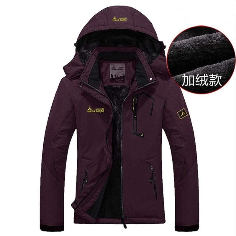 2018 Winter Jacket Women Casual Thick Warm   Parkas   Female Thermal Windbreaker Waterproof Windproof Tourism Jackets Hooded Coats