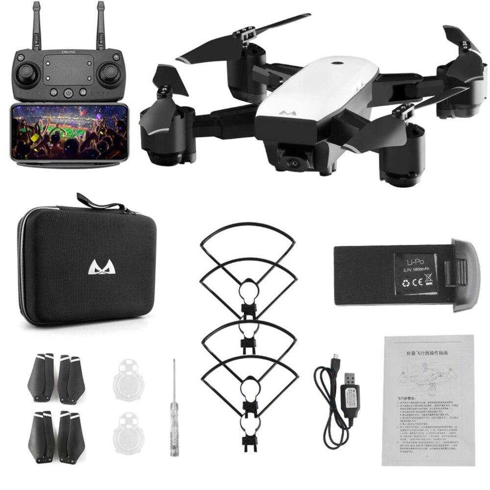 SMRC S20 FPV Drone Com HD 1080p Wi-fi Câmera Quadrocopter Pairando 5MP Dobrar Quadcopters RC Helicóptero de Brinquedo Saco De Armazenamento para o Menino