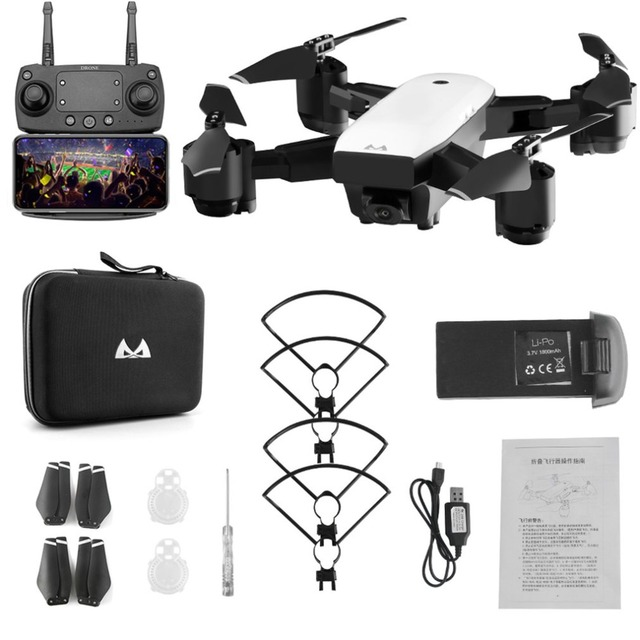 SMRC S20 FPV Drone With HD 1080p Wifi Camera Quadrocopter Hovering 5MP Folding RC Quadcopters Helicopter Toy Storage Bag for Boy