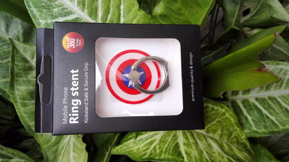 ae0946a8a ... 360 degree Universal Holders Batman Captain American Pokemons 3D Finger  Ring For Oppo f1s Samsung Iphone. High quality! Many more designs have! 2  ...