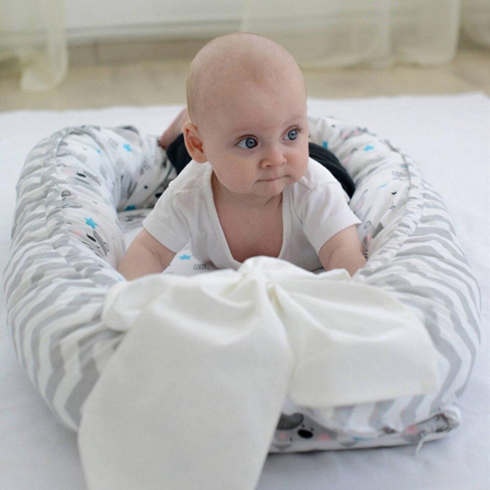 Bébé nid lit berceau bebe Portable amovible et lavable voyage bébé bébé enfants coton berceau reizen cuna de viaje plegable