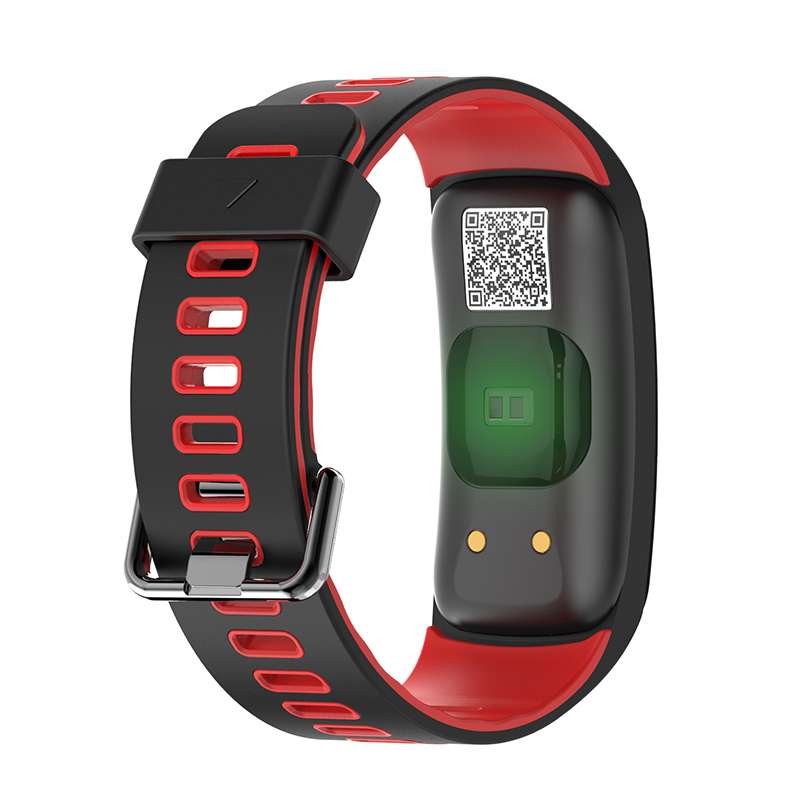 F4C Smartwatch IP68 Waterproof Ultra long Sport Bracelet Bluetooth Blood Pressure Wristband Activity Tracker OLED Color Screen in Smart Wristbands from Consumer Electronics