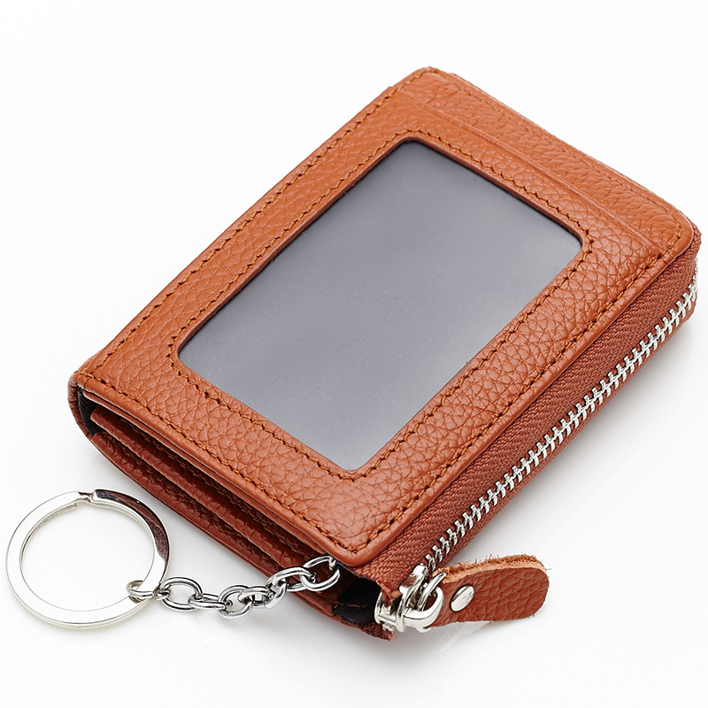 New Arrivals Cow Leather European And American Unisex Key Wallet 2018 Hot Brand Designer Fashion Multi-function Key Housekeeper