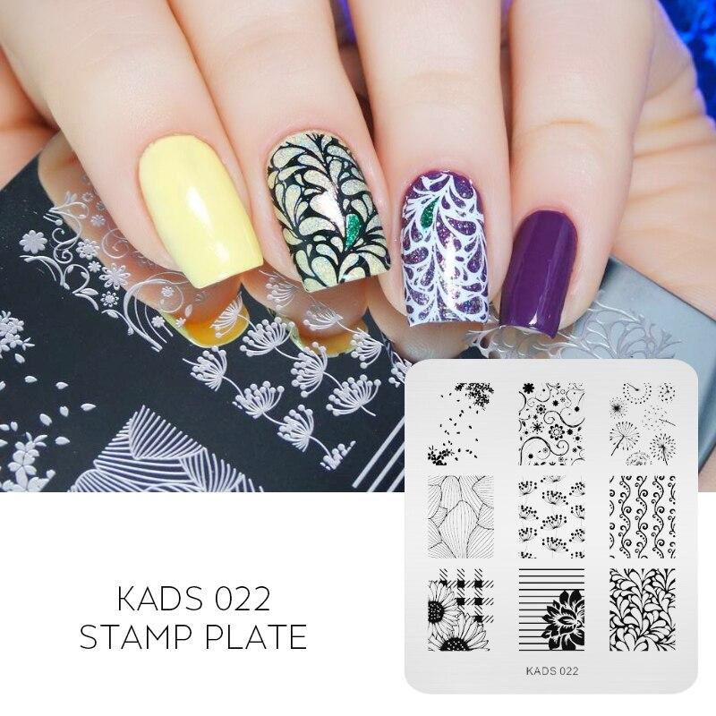 Kads New Arrival Stamping Nail Nail Art Print Stamping