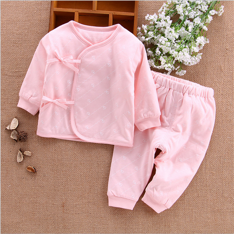 Hot sale Winter blue pink warm cotton Babys Sets free shipping S401-S404