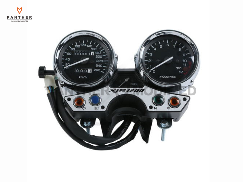 1 Set Motorcycle Speedometer Gauge Tachometer Moto Speed Mileage meter case for YAMAHA XJR1200 1993 1994 1995 1996 1997 1998