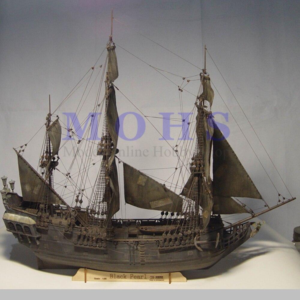 Scala in legno modello di nave 1/96 Pirati dei caraibi