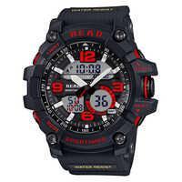 Tezer Wasserdichte 3Bar Sport Smart Uhren Männer Luxus Marke Militär Digitale Uhr Led-anzeige Alarm erinnerung часы Für 90001