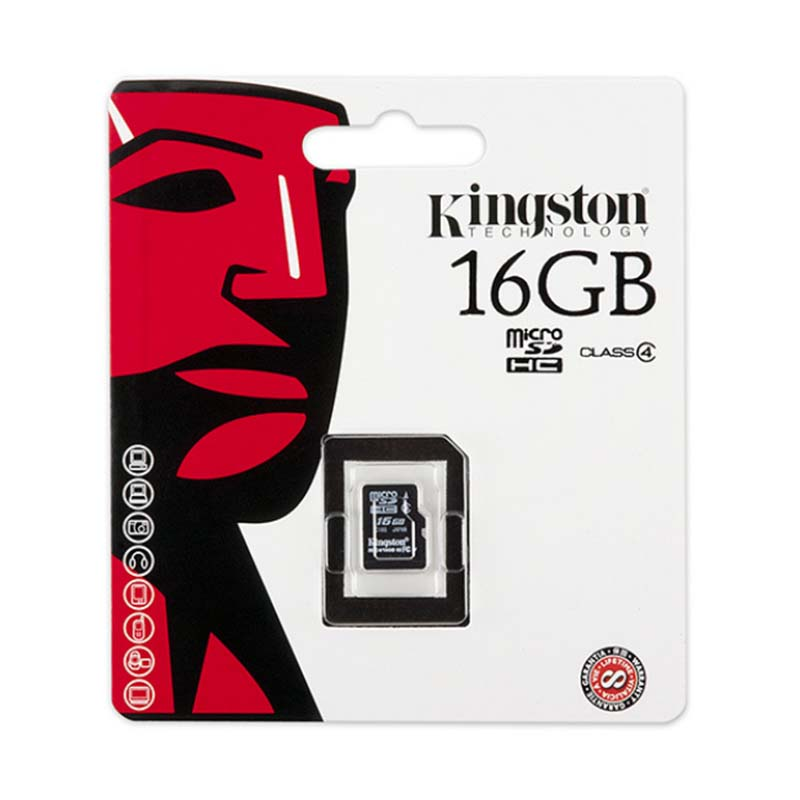 Image 5 - KingstonTechnology Micro SD Card Class 10 16GB MicroSDHC TF / Micro SD Card Black Memory Card Data read speeds up to 80MB/s-in Micro SD Cards from Computer & Office