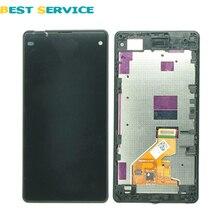 Sony Xperia Z1 Mini Z1 Kompakt D5503 LCD ekran + dokunmatik ekranlı sayısallaştırıcı grup Çerçeve Ücretsiz Kargo Ile