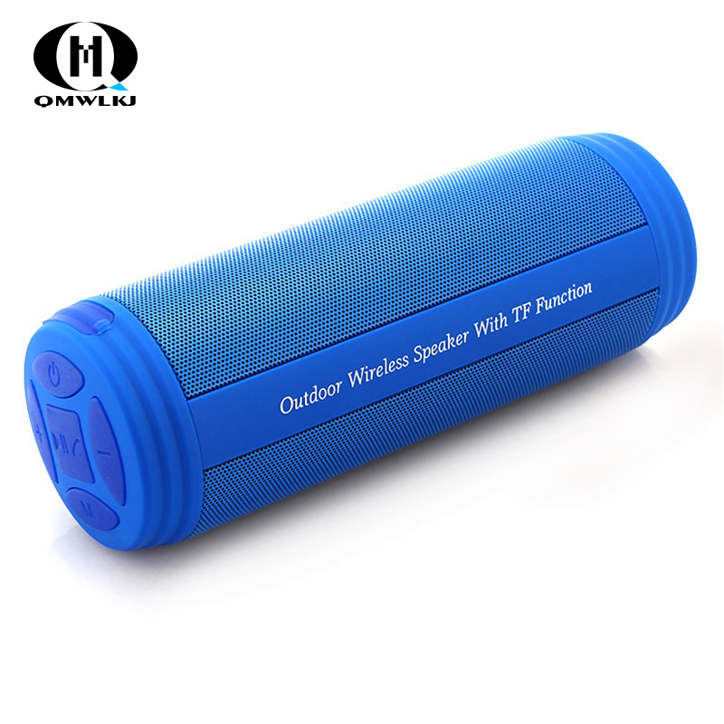 Image 1 - Wireless Bluetooth Speakers Best Waterproof Portable Outdoor Loudspeaker Mini Column Box Speaker Design For iPhone Xiaomi Huawei-in Portable Speakers from Consumer Electronics