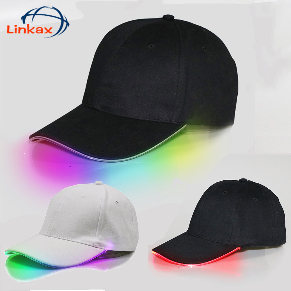 Adjustable Baseball Cap with 5LED Light Hat Fishing-Camping Outdoor Hiking Hot