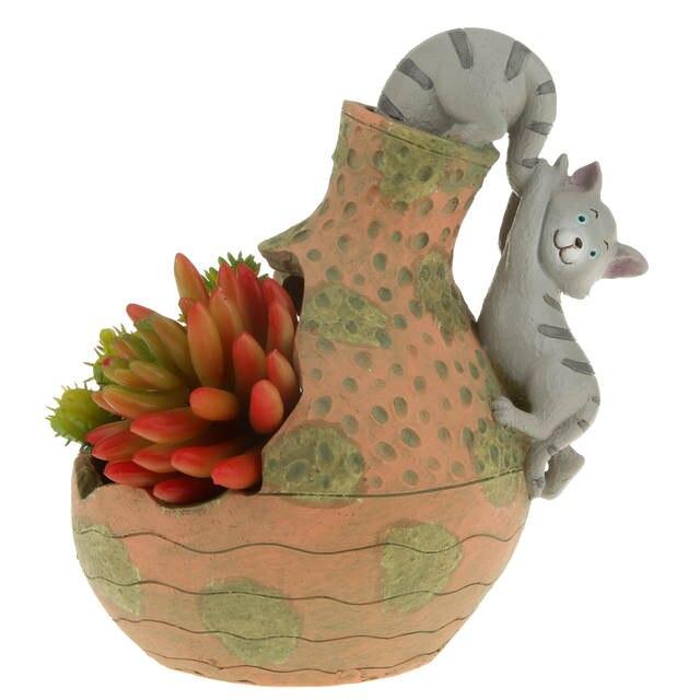 Online Shop Creative Decorative Plant Resin Succulent Planter Flower