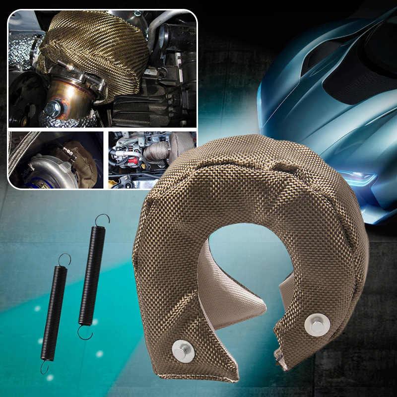 1 juego Universal de motor de coche T3 Turbo cargador cubierta de protección de fibra de vidrio para T3/T25/T28/GT25/GT28/GT30/GT32 Etc.