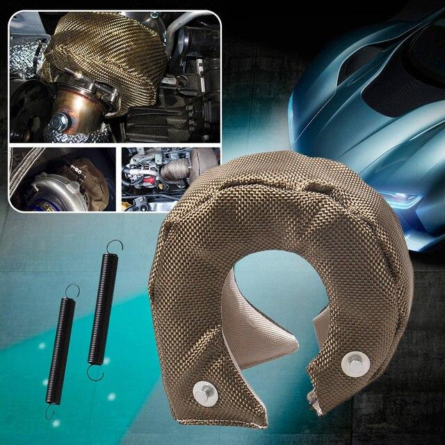 Auto T3 Turbo Hitteschild Cover Deken Glasvezel Bescherming Wrap Voor T3/25/28 GT25/28/30/32/35/37/26 Auto Accessoires