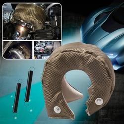 Samochód T3 Turbo ładowarka osłona termiczna koc szkło ochrona włókna Wrap dla T3/25/28 GT25/28/30/32/35/37/26 akcesoria samochodowe w Turboładowarki i części od Samochody i motocykle na