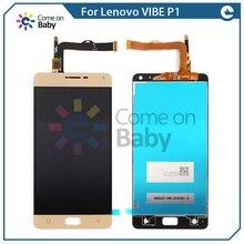 Для lenovo vibe P1 P1c72 P1a42 p1c58 p1 Turbo P1 Pro P1MC50 ЖК-дисплей + оригинальный кодирующий преобразователь сенсорного экрана в сборе 5,5
