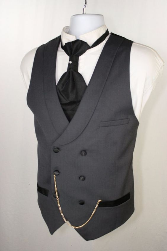 2017 New Arrival Designs Grey Men Vest Double Breasted Waistcoat Shawl Lapel Custom Made Groom Prom Dinner Vests Terno Colete