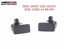 Para AUDI A4 B9 8W Side Assist 8WD 8WD Diodo Emissor de Luz 949 145 949 146