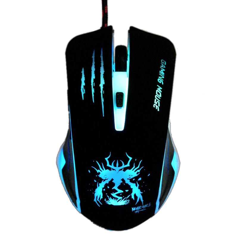 Usb Wired Optical Notebook Pc Gaming Mouse For Dota2 Csgo Games Laptops Computer Gamer In Mice Deathadder(China)