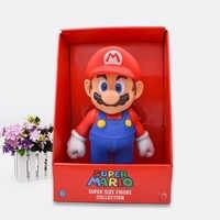 Envío GRATIS Super Mario Bros Mario PVC figura de acción colección muñeca de juguete 9 23 cm nuevo en caja Enime