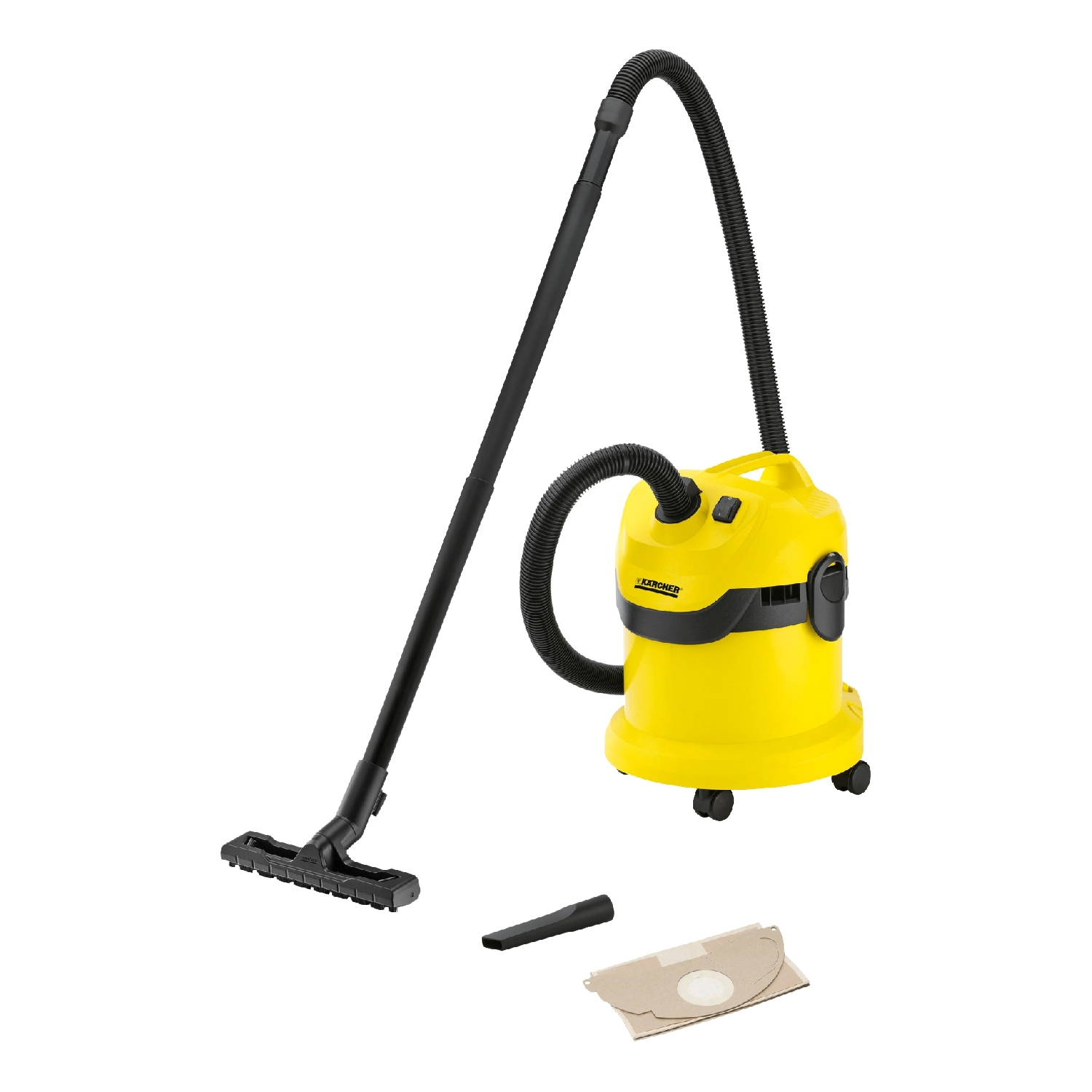 Vacuum cleaner dry and wet cleaning KARCHER WD 2 * EU-I vacuum cleaner wet and dry karcher ad 4 premium eu ii