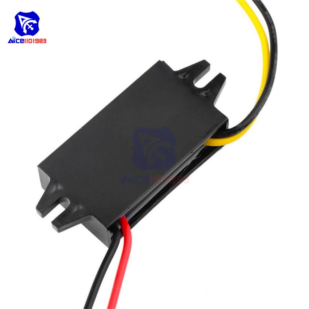 Image 2 - DC/DC Buck Converter Regulator 12V to 5V 3A 15W Car Monitor Power Supply-in Integrated Circuits from Electronic Components & Supplies